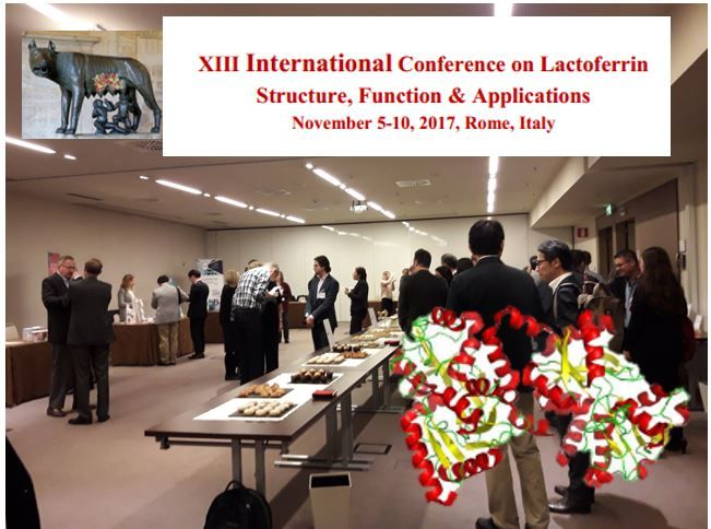 XIII Internationa Lactoferrin Conference